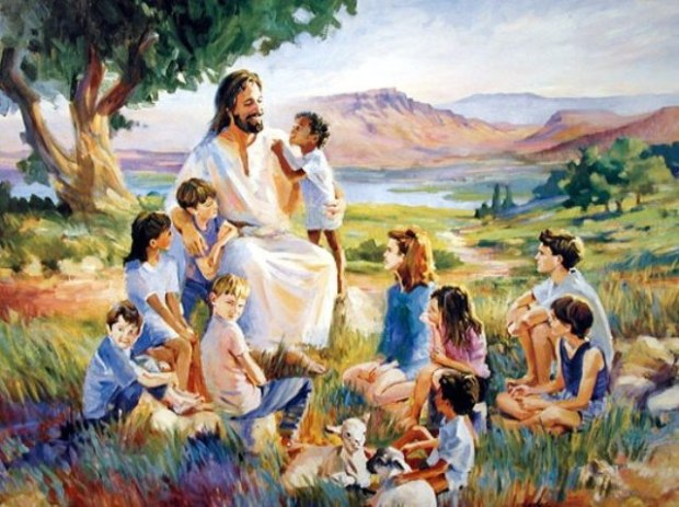 Jesus - let all the little children come to me